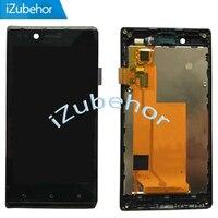 100% LCD אחריות תצוגת מסך עם מסך מגע Digitizer עצרת + מסגרת לסוני עבור Xperia J/ST26 ST26i ST26a