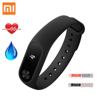 Global Version Xiaomi Mi Band 2 Mi Band2 Smartband OLED Display Touchpad Heart Rate Monitor Bluetooth