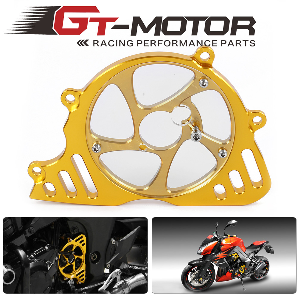 GT Motor - Motorcycle Accessories Guard Protection Gover Left Engine Front Sprocket Chain For Kawasaki Z1000 10-13 motorcycle accessories 650tr left front fender