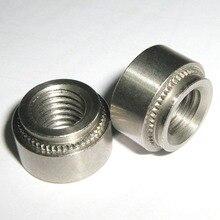 S-M2.5-0, S-M2.5-1 S-M2.5-2 1000 шт, Цинковый покрытый карбоновый Сталь, заклепочные гайки, Пресс в орехи