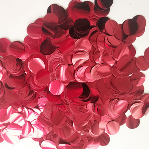 Image 2 - 300g/500g/1kg 1.5CM Rose Gold Foil Confetti Balloons Baby Wedding Birthday Party Gold Round Star Heart Shape Confetti Decor gift