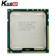 Intel Xeon X5670 Processor 2.93GHz LGA 1366 12MB L3 Cache Zes Core server CPU(China)