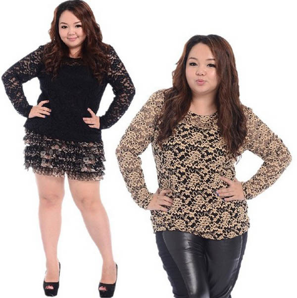 black lace t shirts for women plus size xxxxl shirts 2016