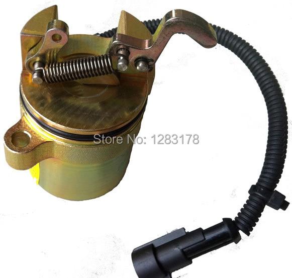 Deutz Shutdown Device Solenoid Valve 0428 7583 / 0428-7583 / 04287583 Diesel Engine Parts fuel shutdown solenoid valve 0419 9900 04199900 12v for deutz 1012