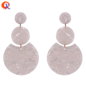Image 3 - Cordial Design 36*36MM 50Pcs Jewelry Accessories/Hand Made/Acetic Acid Bead/Round Coin Shape/DIY Jewelry Making/Earring Findings