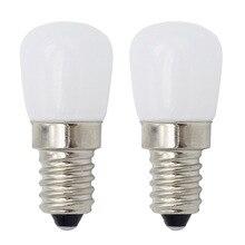 E14 220V 230V 3W яркий светодиодный светильник на холодильник E12 110V мини лампа для холодильника морозильник хрустальные люстры
