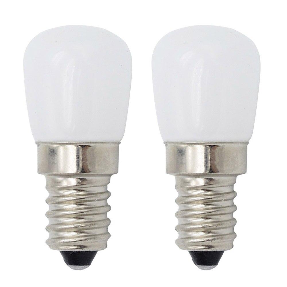 E14 220V 230V 3W Bright LED Refrigerator Light E12 110V Mini Bulb Lamp For Fridge Freezer Crystal Chandeliers