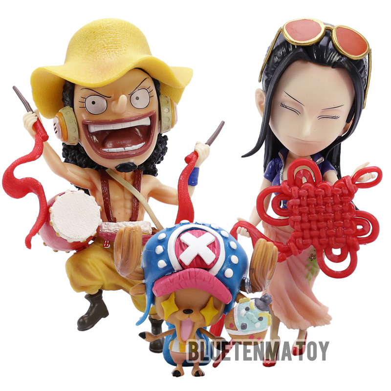 The Cheapest Price 9.84one Piece New Year Festival Play The Violin Brook New Year Dragon Dance Pvc Action Figure Model Toys Boxed 25cm N697 Action & Toy Figures