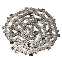 DSHA 14 дюймов Цепь лезвия для бензопилы для резки древесины бензопилы части 52 приводные звенья 3/8 шаг бензопилы мельница цепи