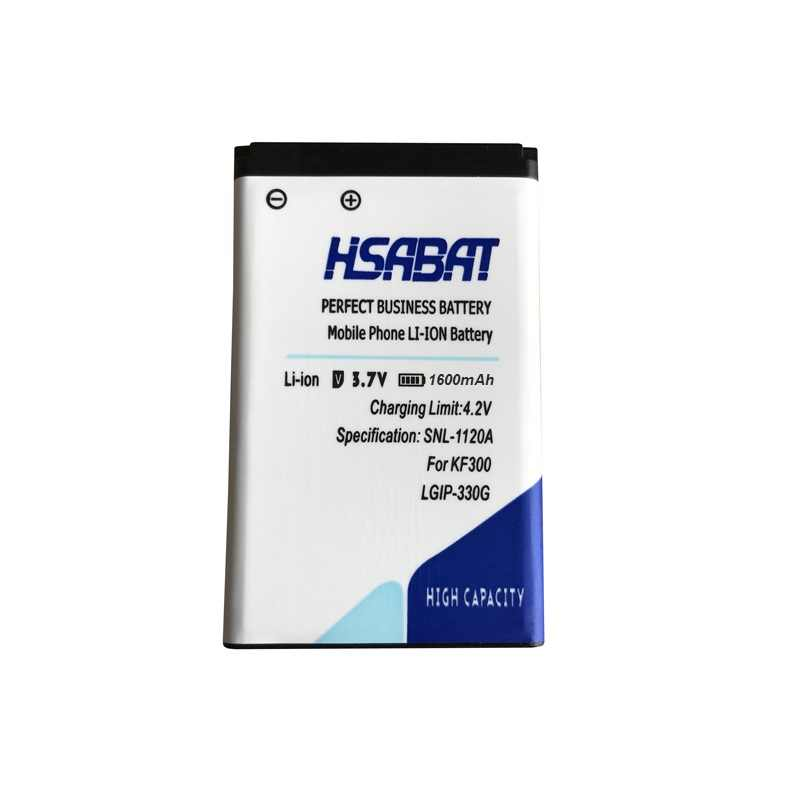 Hsabat LGIP-330G 1600 мА/ч, мобильный телефон Батарея для LG GM210 KF240 KF245 KF300 KF305 KF330 KM380