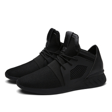 Brand Men's Vulcanize Shoes 2017 Casual High Top Mesh Leather Breathable Men Trainers Male Shoes Sport Superstar Basket Tenis