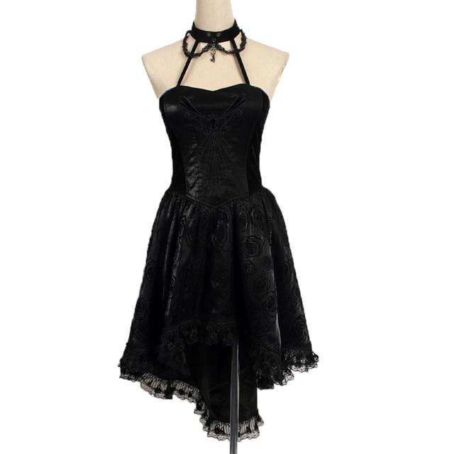 Gothic Sleeveless Dress