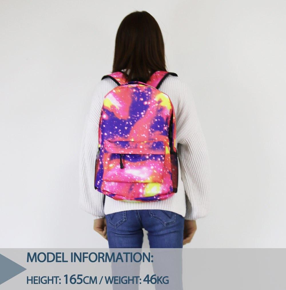 escola presente mochila bonito novo padrão portátil