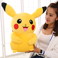 Big Size Pokemon Plush Toy 45CM Cute Collectible Soft Pikachu Stuffed Animal Doll For Gifts