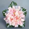 Белый Розовый Реалистичные Лили Свадебный Букет Для Свадебные Цветы Шелк Красивый Искусственный Свадебный Букет Buque Noiva рамос де novia
