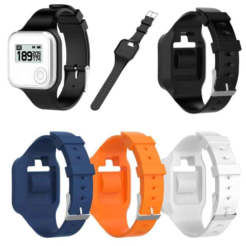 Silicone Replacement Wrist Strap Watch Band For GolfBuddy Voice GPS Voice 2 Golf GPS/Rangefinder