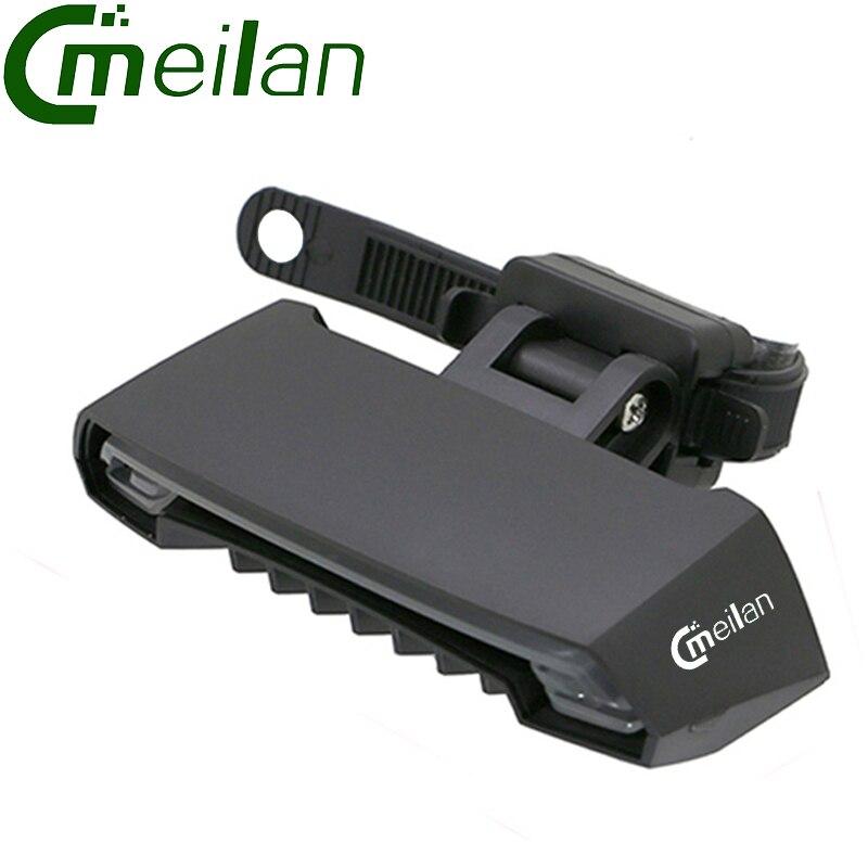 Цена за Meilan X5 Smart Велоспорт лазерный Свет Велосипед задние задний фонарь USB Аккумуляторная Беспроводной Пульт Дистанционного Сигнала Поворота MTB Гора BMX Дорога велосипед