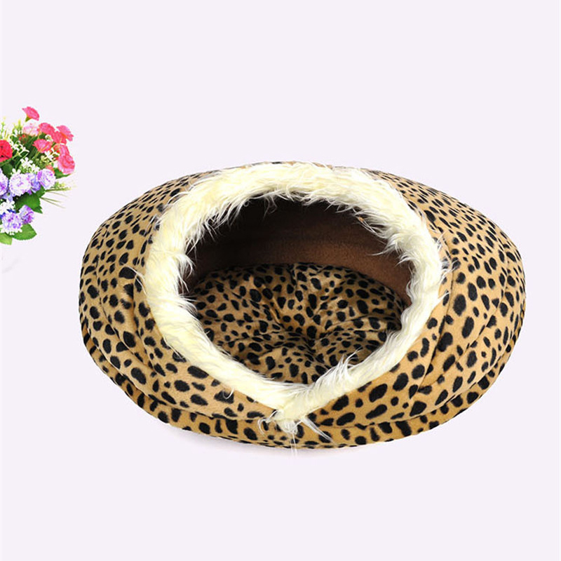 NEW-Pet-Bed-For-font-b-Dogs-b-font-Cats-Conch-Houses-Warm-Soft-Fiber-Houses