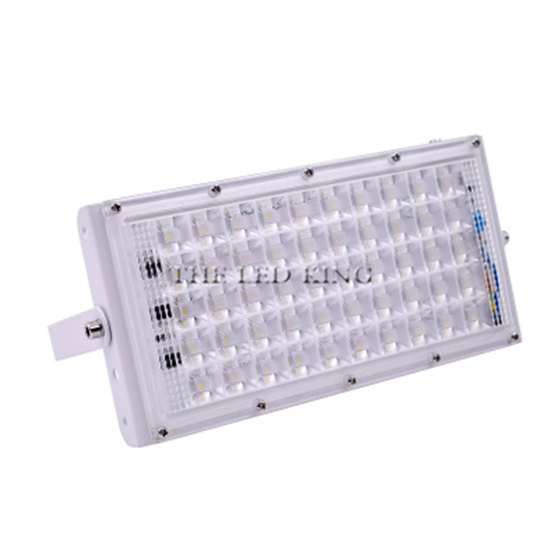 Image 2 - LED Flood Light 50W Outdoor Floodlight Waterproof IP65 Wall Reflector Lighting 220V 240V Street Lamp Spotlight-in Floodlights from Lights & Lighting