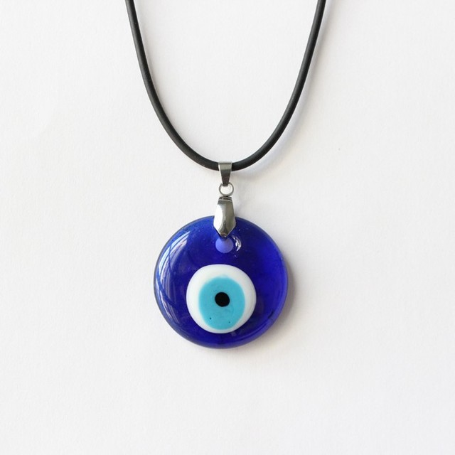 Turkish evil blue eye necklace women or men nazar d3cm glass pendant turkish evil blue eye necklace women or men nazar d3cm glass pendant turkey jewelry arabic islamic mozeypictures Images