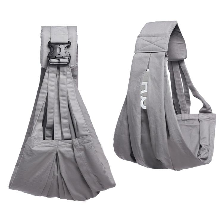 Ainomi  Baby Sling Carrier Suspender Cotton Breathable Infant Carrier Adjustable Newborn Wrap Sling Backpacks Sponge Baby