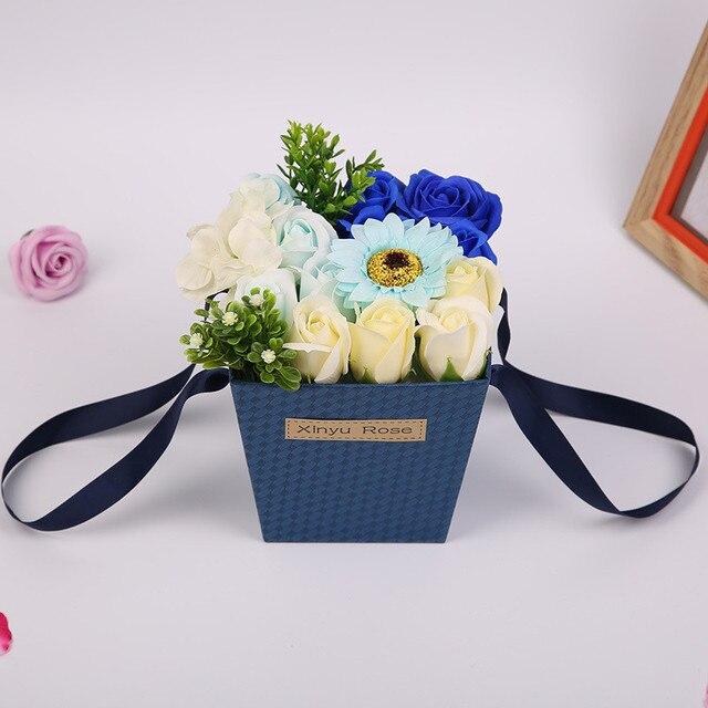 flydream soap flower gift box roses s day