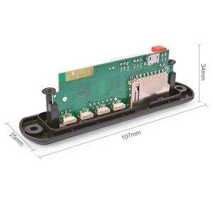 Image 4 - AIYIMA 12 V Bluetooth MP3 Dekoder Kurulu 4 Renkli Ekran USB FM APE FLAC Kayıpsız Çözme kablosuz Bluetooth 5.0 Modülü Handsfree