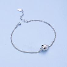 hot deal buy s- factory direct s925 sterling silver bracelet female korean fashion silver jewelry wholesale jewelry pearls a hijab  gift