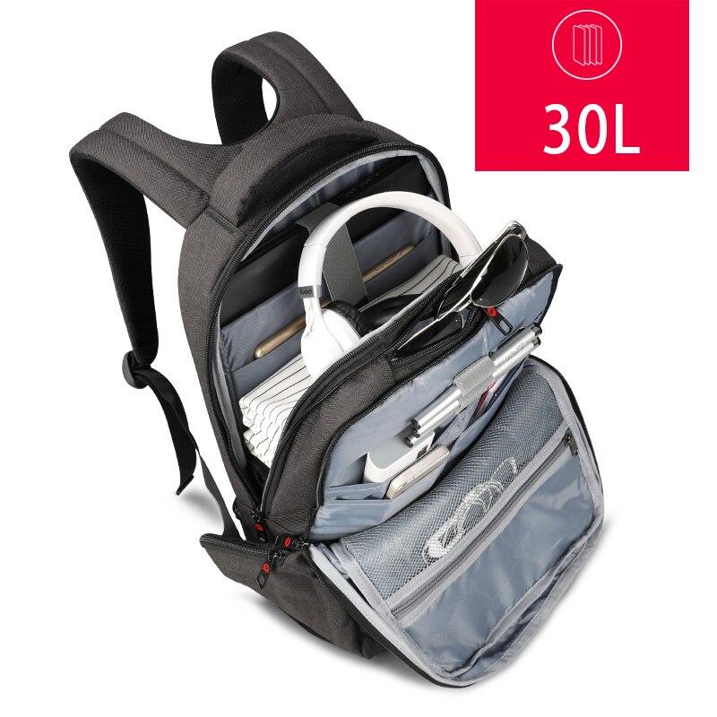 Tigernu marque mode affaires sac à dos pour hommes carnet de voyage pochette d'ordinateur 15.6 pouces Anti-vol mâle Mochila pour les femmes - 4