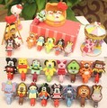 Newest 100pcs/lot Cartoon Animals Cable Winder Clip Earphone Winder Earbud Silicone USB Cable Cord Holder Free shipping