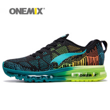 Onemix Summer Sports Running Shoes Men&Women Sneakers Breathable Knit Vamp Boots Deodorizing Insole for Outdoor Sports Colorful
