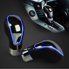 цена на Universal Car Gear Shift Knob Changeable Multi-Color LED Light Touch Activated Sensor Shifter Gear Knob Stick