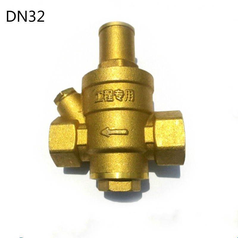 1 1/4 DN32 Brass water pressure regulator without Gauge,pressure maintaining valve,Tap water pressure reducing valve 1pcs oxygen regulator pressure gauge pressure reducing valve input 15mpa g5 8