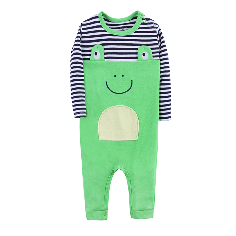 5e0fd6b65 2017 Cotton Spring Baby Rompers Newborn Baby Boys Clothes Infant ...