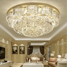 European luxury crystal living room Ceiling Lights modern home round bedroom dining room ceiling lamp lighting fixtures european style luxury 6 lights led chandelier crystal home ceiling fixture pendant lamp lighting dining room bedroom living room