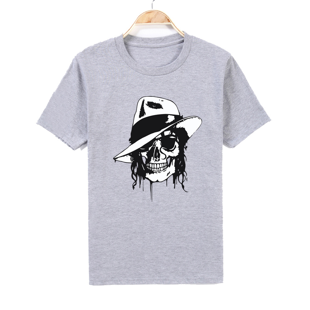 Men Women Print MJ T-shirt O-Neck Short sleeves Casual Produced To Commemorate Michael Jackson T Shirt Top tee 100% Cotton