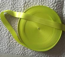 15 meters Roll Seat Belt Webbing Safety Strap Lime Color 48mm Wide 5 Bars