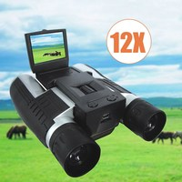 12x32 1920X1080p Full HD Video Camera Telescope Binocular With 2inch Screen Outdoor Camping Bird Watching
