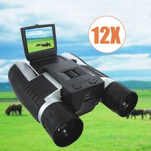 Discount! 12×32 1920X1080p Full HD Video Camera Telescope Binocular With 2inch Screen Outdoor camping bird watching