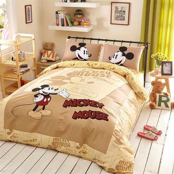 Funda Nordica Mickey Y Minnie 150.Kids Bedding Set Minnie Mouse Bedding Funda Nordica Minnie Duvet Cover Comforter Pig Baby Bedding Minnie Single Nordico Anime 5