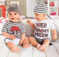 Summer Baby Sets Baby Boy Suits 3PCS T-Shirt Pant Hat Girl Clothes Set Kids Outfit Toddler Vestidos Baby Clothing Sets
