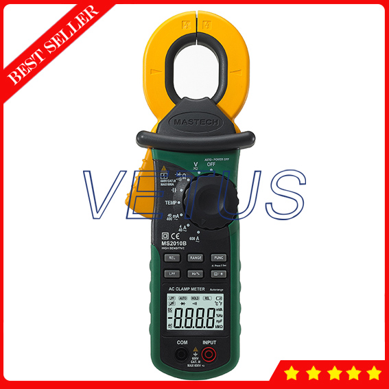 Mastech MS2010B High Sensitivity Digital AC Leakage Clamp Meter ...