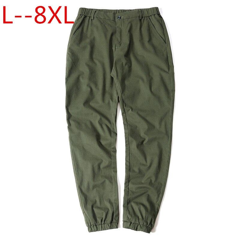 Grande taille 10XL 8XL 6XL 5XL hommes pantalons Hip Hop Harem Joggers pantalons 2018 hommes pantalons de Camouflage pantalons de survêtement