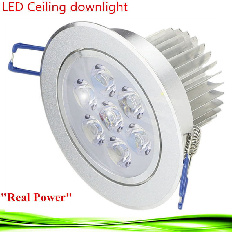 10x светодиодный светильник 3 Вт 5 Вт 7 Вт 110 В 220 В dimmableled лампы Встраиваемые пятно света для домашнего освещения Бесплатная доставка