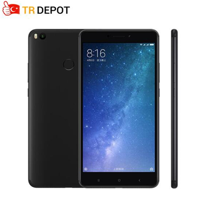 "Original Xiaomi Mi Max 2 6.44"" Display 4GB RAM 64GB Snapdragon 625 Octa Core Mobile Phone Max2 12.0MP 4K Camera IMX386 5300mAh"