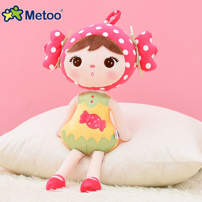 Metoo Doll Soft Toy 45cm Cute Lovely Keppel Soft Toys for Children Stuffed Animals Baby Stuff for Boys Children Birthday Gifts