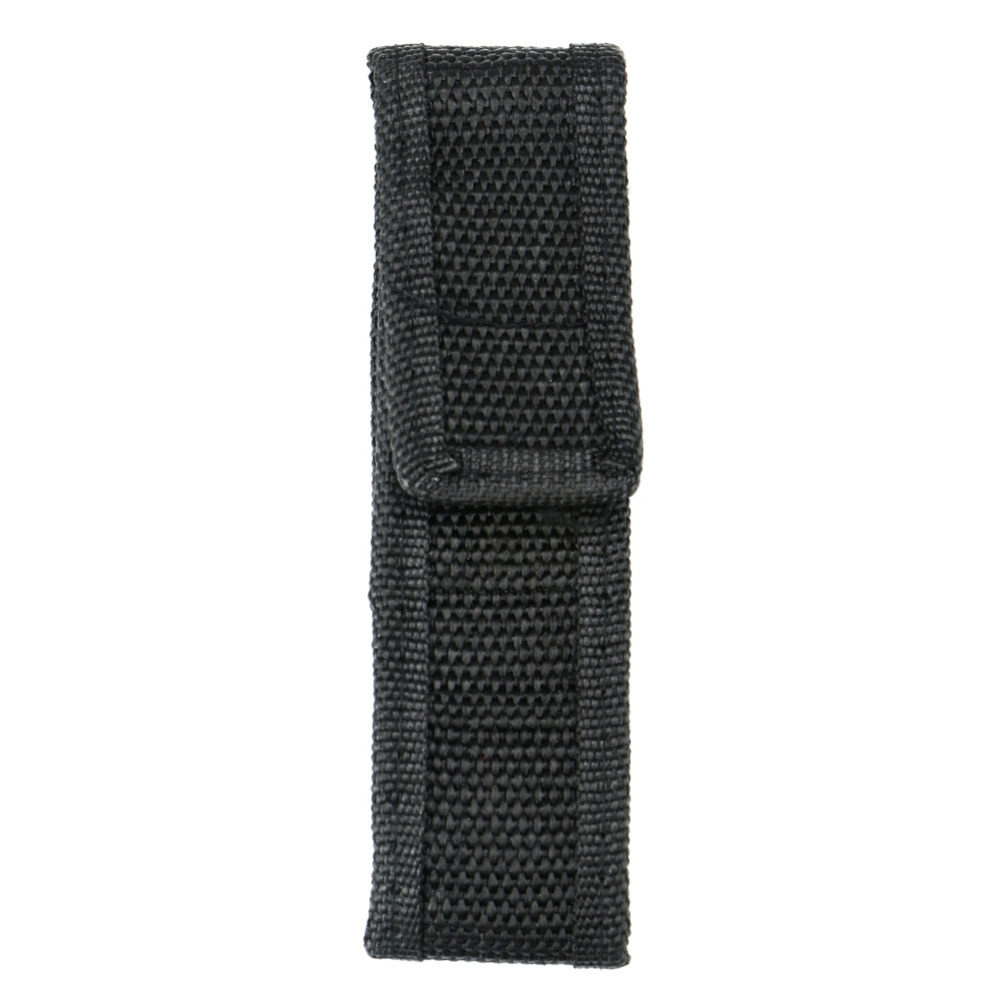 1X 14cm Portable Nylon Holster Holder Pouch Case Flashlight Torch Belt Bag RA Mi