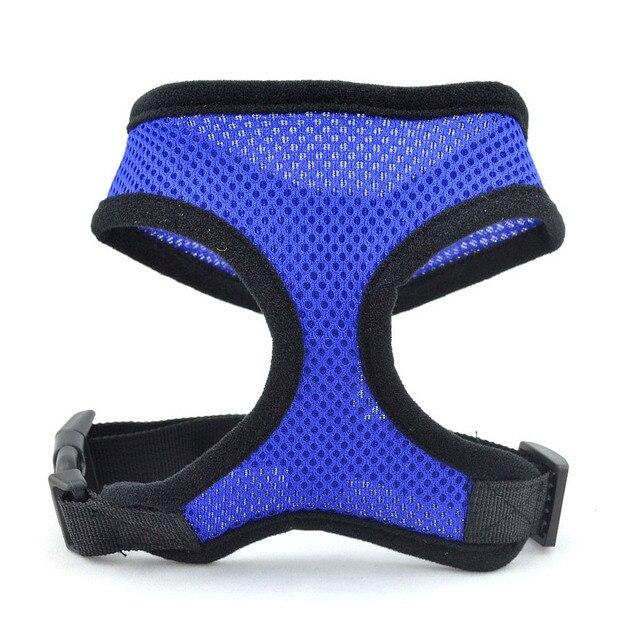 Adjustable Straps Pet Dog Safety Harness Easy Control Mesh Vest Leash Chest Straps Belt