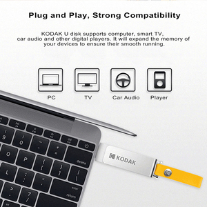 Image 5 - KODAK K133 Mini Metal USB flash sürücü 256GB 128GB 64GB 32GB 16GB kalem sürücü USB 3.0 yüksek hızlı hafıza çubuğu Unidad flaş Pendrive
