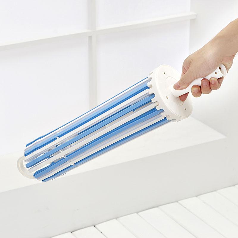 1PC-Towel-Hanger-Umbrella-Plastic-Drying-Rack-For-Underwear-Wardrobe-Accessories-20-Clip-Rotate-The-Windbreak (2)